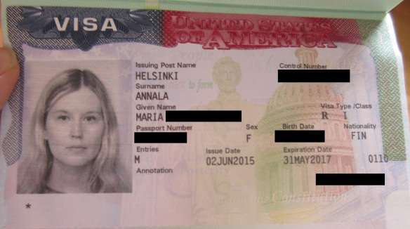 US journalist and media visa Yhdysvallat USA journalistiviisumi viisumi