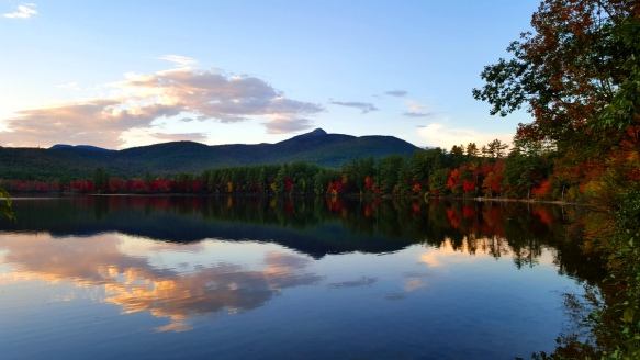 foliage at Chocorua Lake New Hampshire travel